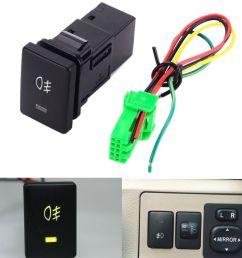 1 foglight switch dc12v 4 wire foglight switch fog light  [ 1000 x 1000 Pixel ]