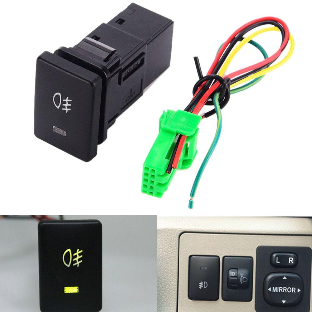 medium resolution of 1 foglight switch dc12v 4 wire foglight switch fog light