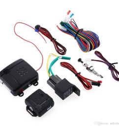 package contents 1 x main control unit 1 x sign horn 1 x vibrator 2 x remote control 1 x led connection wire 1 x emergency switch 1 x relay  [ 1000 x 1000 Pixel ]