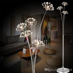 Light Stand For Living Room Layout Ideas With Fireplace And Tv 2019 Modern Creative Floor Lamp Bedroom Bedside Crystal Led Flower Payment Bank Transfer Western Union T So On