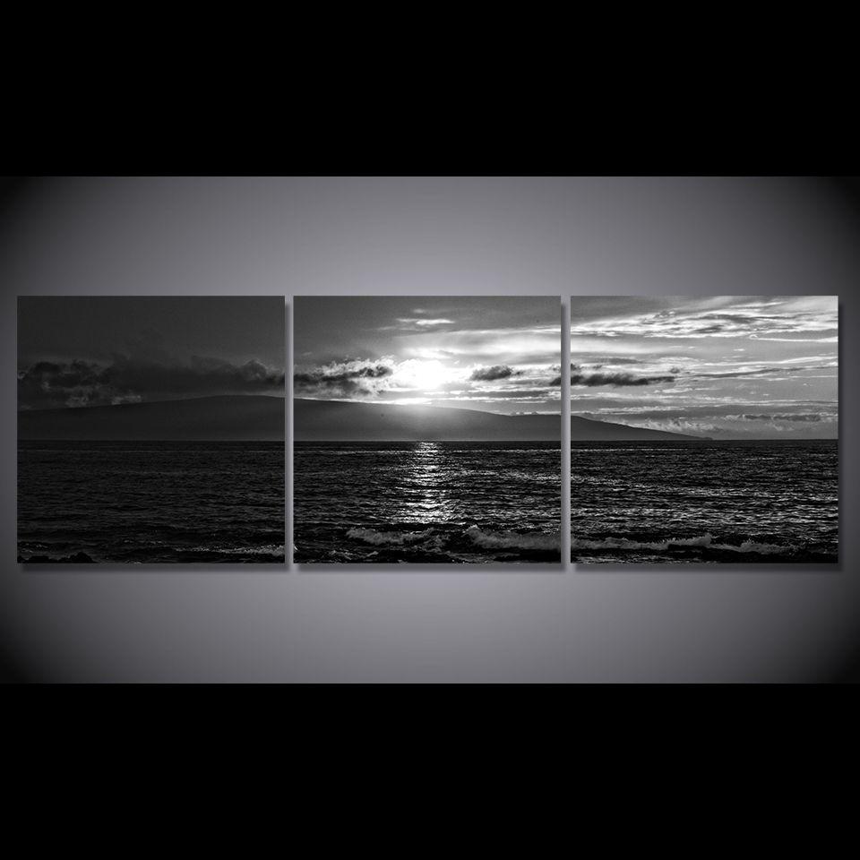 3 pcs set seascape