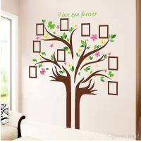 Large Size Family Photo Frames Love Tree Wall Stickers Diy ...