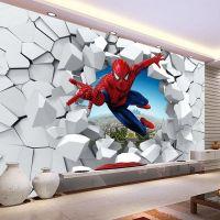 Spiderman Wallpaper Custom 3d Photo Wallpaper For Walls ...