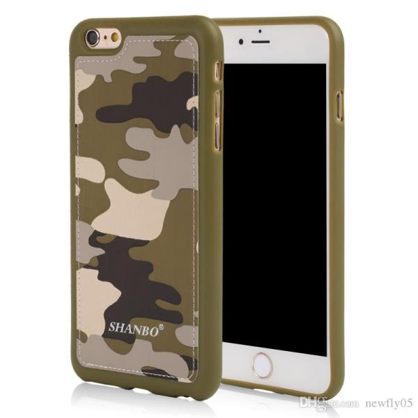 Luxury Phone Case 6s Army Camo Camouflage Hybird Pc