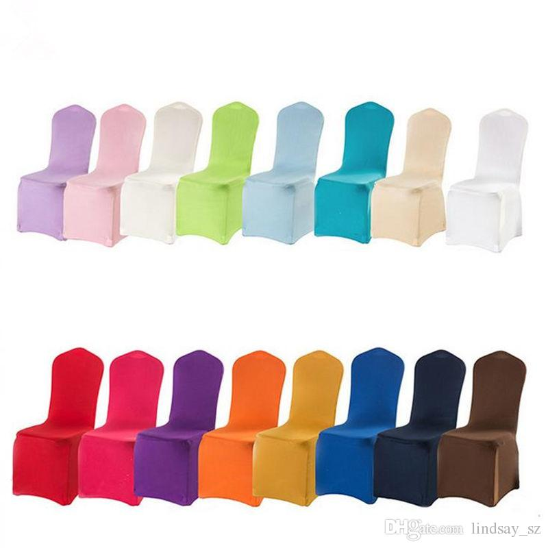 cover chairs wholesale dining chair covers in grey many color spandex for wedding banquet hotel decoration decor fast shipping furniture protectors sofas seat