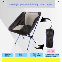 Portable Folding Chairs Potty Chair For Older Child New Arrival Ultra Light Outdoor Camping Supplies Back Reinforcement Single Network Structure Casual Canvas Round
