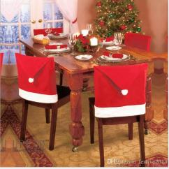 Holiday Decorative Chair Covers Bar Stool Best Price Christmas Decorations Home Party Santa Claus Hat The Sets Non Woven Material 65 Cm Wide And 50 Long Around A Single Weight Grams Large Number Of Spot