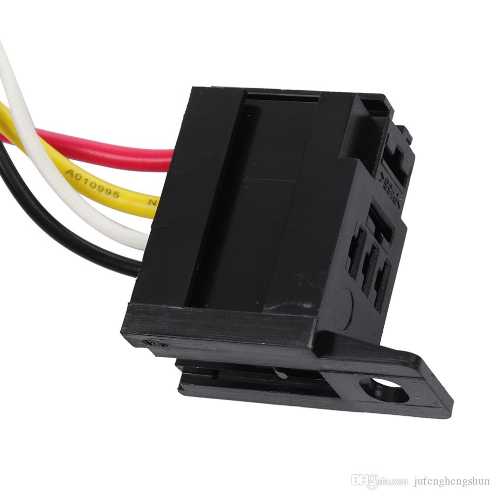 hight resolution of 2019 5 car auto relay socket 12v 20a 30a 4 pin 4 wire harness kit for electric fan fuel pump light horn universal from jufenghengshun 10 76 dhgate com