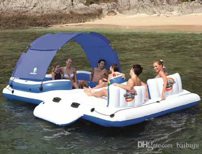 inflatable water chairs for adults back support office big w 6 8pepole floating row relax bed cheap used commercial inflatables best pool