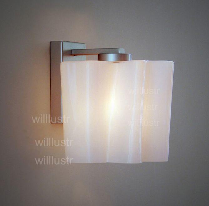 acheter logico applique lounge living entree foyer vanite lumiere lampe moderne twist depoli lait verre abat jour blanc nuage eclairage de 90 46 du