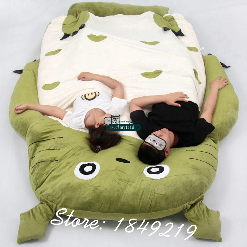 anime bean bag chair desk gas lift 2019 dorimytrader kawaii japanese my neighbor totoro style cartoon beanbag tatami sofa mattress for children gift 190cm x 130cm dy61094 from