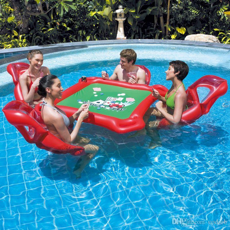 inflatable water chairs for adults grey bathroom safety shower tub bench chair with back 2019 waterpark mahjong poker table set floating row float fun pool toy outdoor toys high quality t1 from codiob