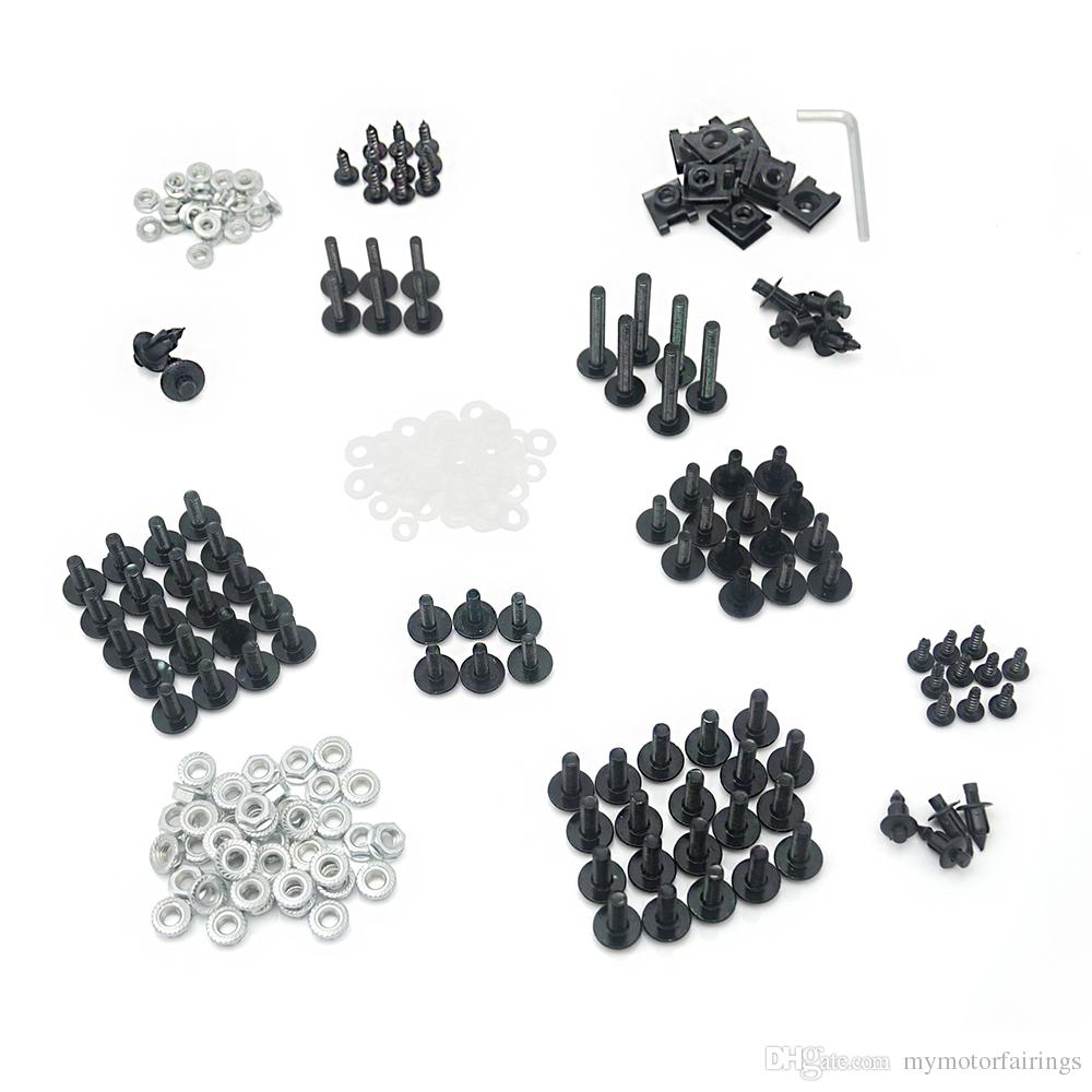2019 Aluminium Fairing Bolt Kit Fastener Clips Screws