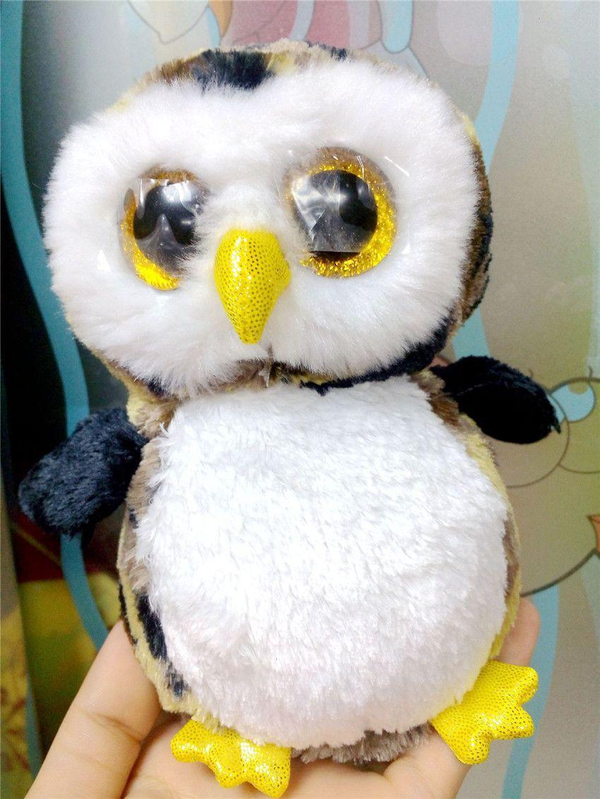 2019 Ty Beanie Boos Big Eyes Kawaii Stuffed Animals Small