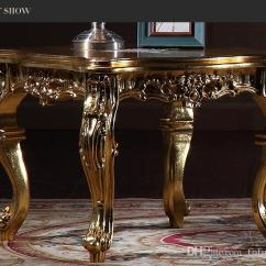 Italian Classic Furniture Living Room Floor 2019 Antique Reproduction French Coffee Table With Gold Leaf Gilding Square From Fpfurniturecn