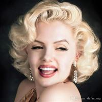 Z&F Marilyn Monroe Wigs Vintage Blonde Rose Hair Net Fashi ...