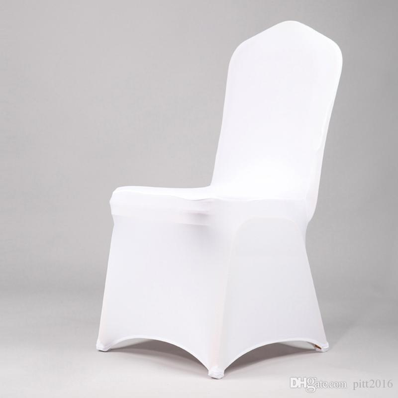 banquet chair covers wholesale chinese chippendale chairs universal white cover spandex elastic lycra hotel party wedding decor multi color