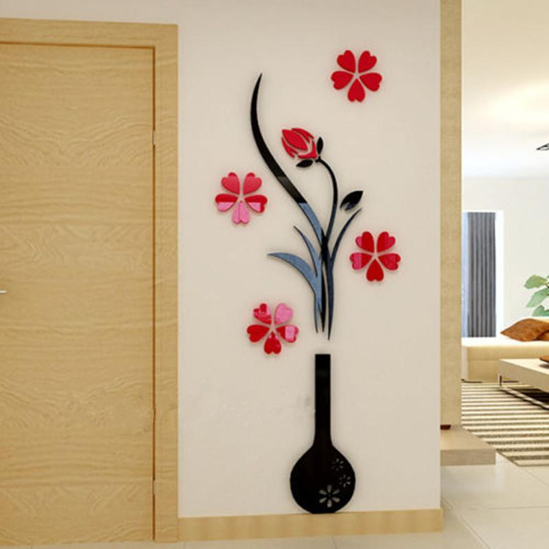 7 piece living room package best modern swivel chairs for 3d plum vase wall stickers home decor creative decals ...