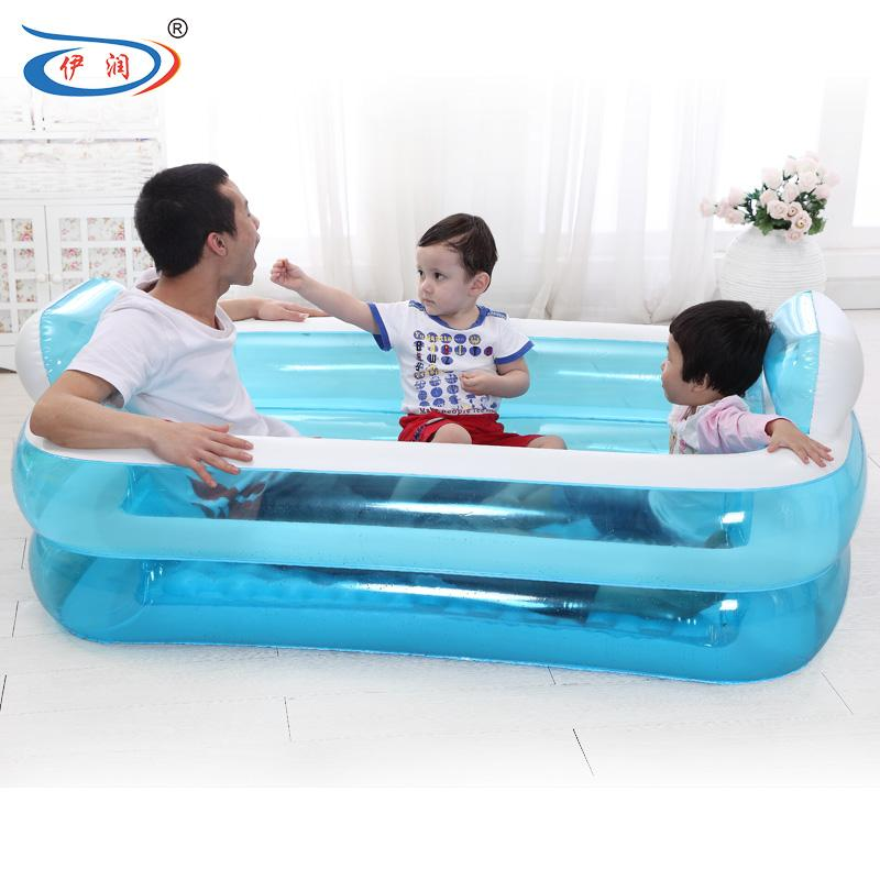2019 Inflatable Bathtub Folding Tub Thickening Adult