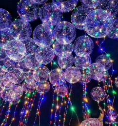 new bobo ball wave led line string balloon light with battery for christmas halloween wedding party home decoration circular battery operated string lights  [ 1000 x 1000 Pixel ]