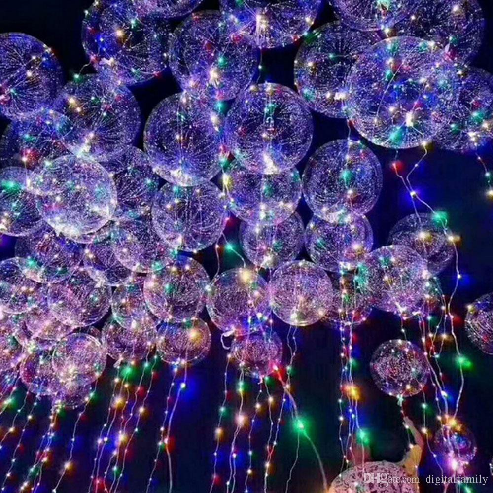 medium resolution of new bobo ball wave led line string balloon light with battery for christmas halloween wedding party home decoration circular battery operated string lights