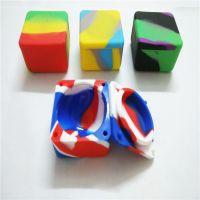 2017 Lego/Square Silicone Jars Dab Wax Container Silicone ...