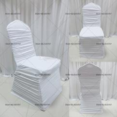 Ruched Chair Covers Flip Bed Colorful Spandex Lycra Ruffled Cover For 4 Sale Service We Would Rather To Supply The Customer Best Quality And After Sell Goods