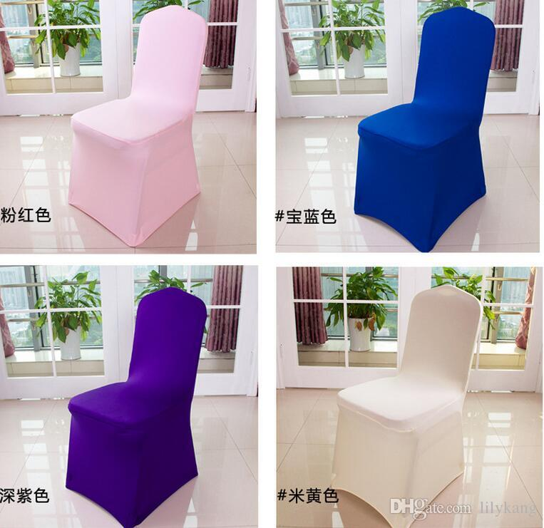 used lycra chair covers for sale raised toilet universal polyester spandex wedding outdoor beach cover banquet folding hotel ...