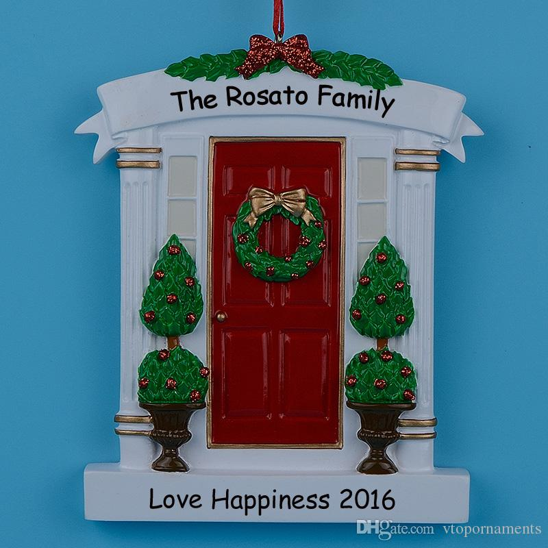 Personalized Christmas Door Decorations