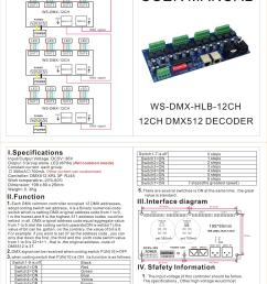 12ch 700ma constant current dmx dimmer controller 12 channel dmx 512 controller dc5v 36v output led dmx512 decoder for led wall washer lamp [ 2481 x 3356 Pixel ]
