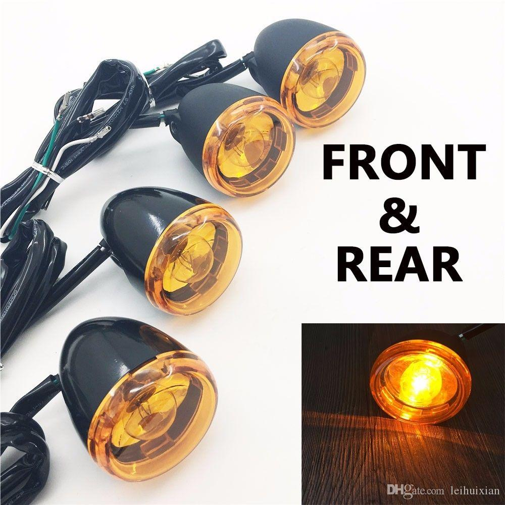 hight resolution of  color same as pictures show material high quality billet aluminum pe lens bulb turn signal light with bracket wiring 3 wire set up position rear