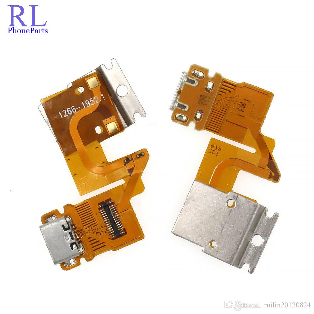 hight resolution of oem usb charger charging port dock connector flex cable ribbon for sony xperia tablet z sgp311 sgp312 sgp321 usb flex cable cheap phone parts parts of a