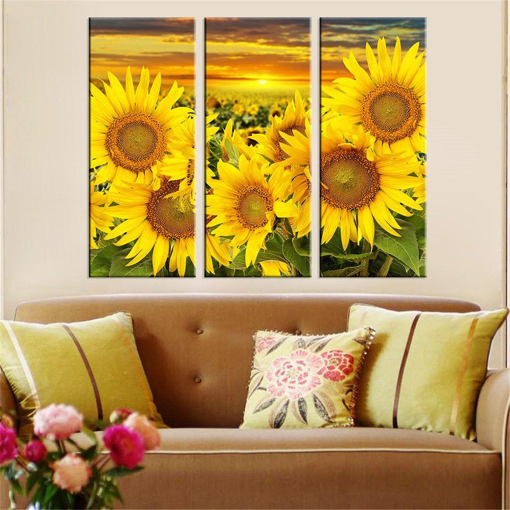 Sunflower Wall Art - guild master 169050s tuscan sunflower wall art ...