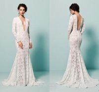 Plunging Neckline Wedding Dress | www.pixshark.com ...