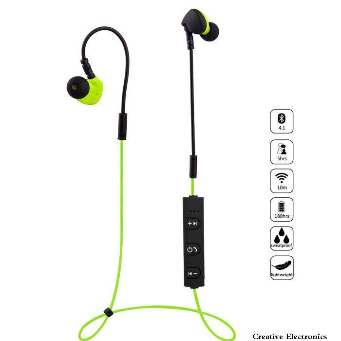 Bluetooth Headphone Wireless Headset Stereo Earphones