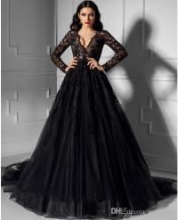 Long Black Lace Bridesmaid Dress | www.pixshark.com ...