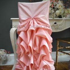 Chair Covers Pink Van Der Rohe 2019 2016 Taffeta Draped Blush Sashes Romantic Beautiful Customer Satisfaction