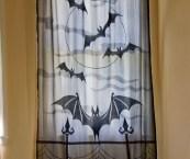 Halloween Window Treatments