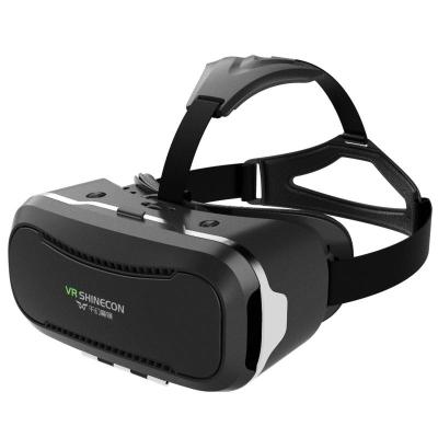 Wholesale- VR SHINECON 2nd VersionVirtual Reality Glasses Headset for 3D Videos Movies Games Compatible with Most 3.5