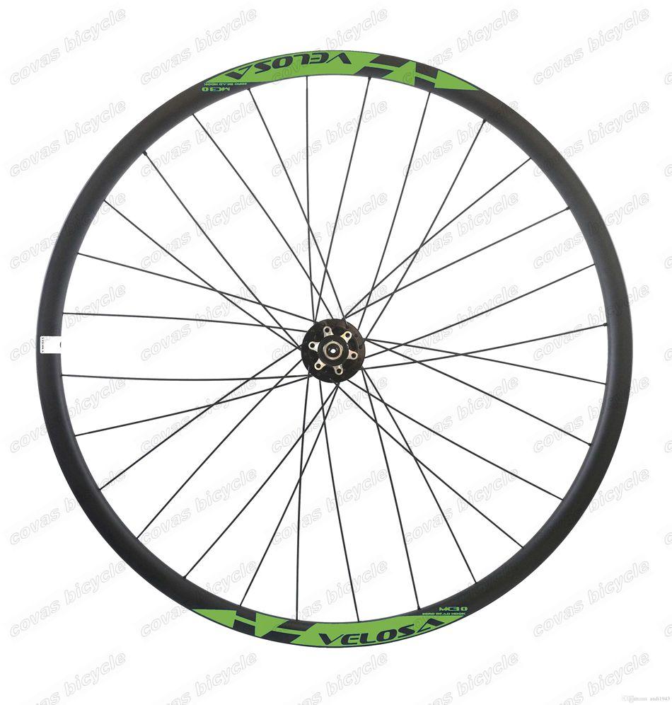 Carbon Bicycle Wheels Hookless 29er Mountain Bike Wheelset