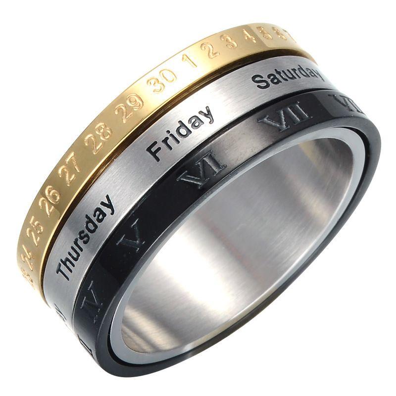 Ringe aus titan oder edelstahl  Modeschmuck