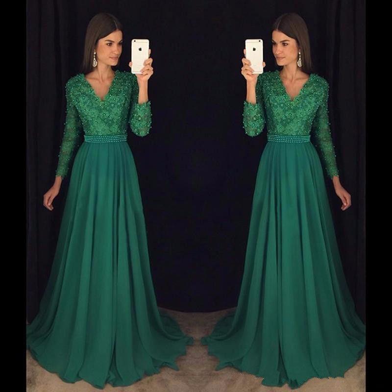Long Sleeve Lace Dresses
