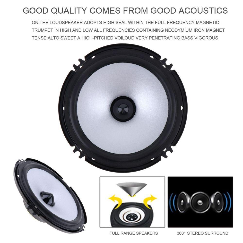 medium resolution of 6 5 inch 60w car speaker automobile car hifi audio full range frequency speaker cau 404 best price car audio best price car stereo from agileauto