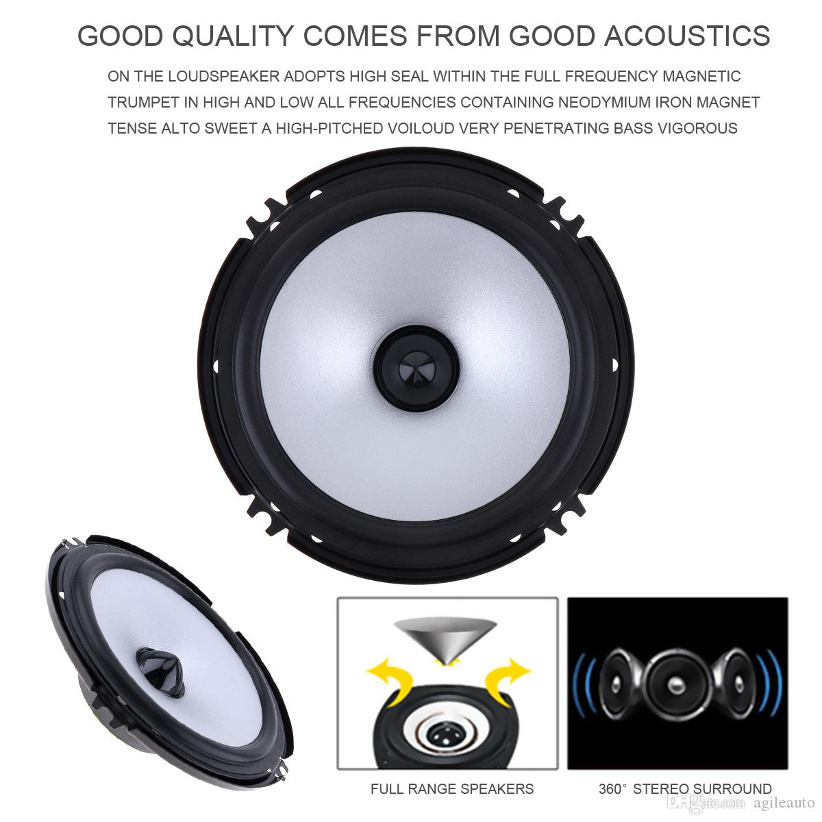 hight resolution of 6 5 inch 60w car speaker automobile car hifi audio full range frequency speaker cau 404 best price car audio best price car stereo from agileauto