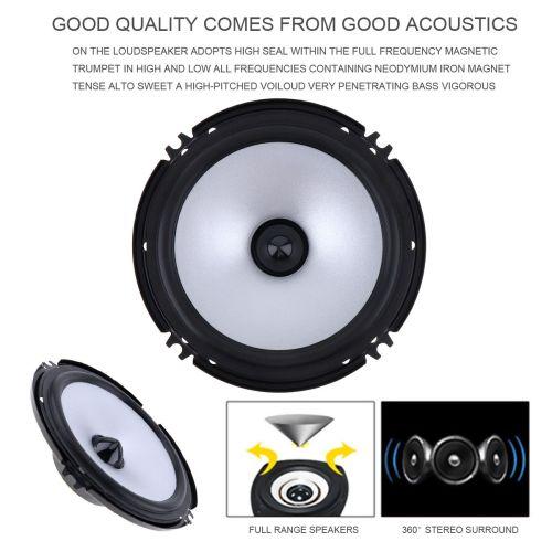small resolution of 6 5 inch 60w car speaker automobile car hifi audio full range frequency speaker cau 404 best price car audio best price car stereo from agileauto