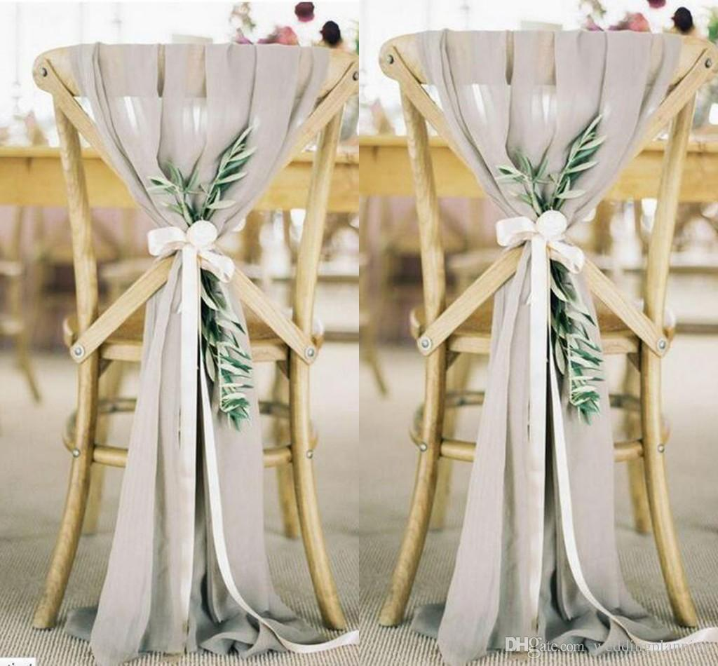 wedding chair sash upholstered scoop back dining chairs real image 30d chiffon sashes formal occasion party covers free