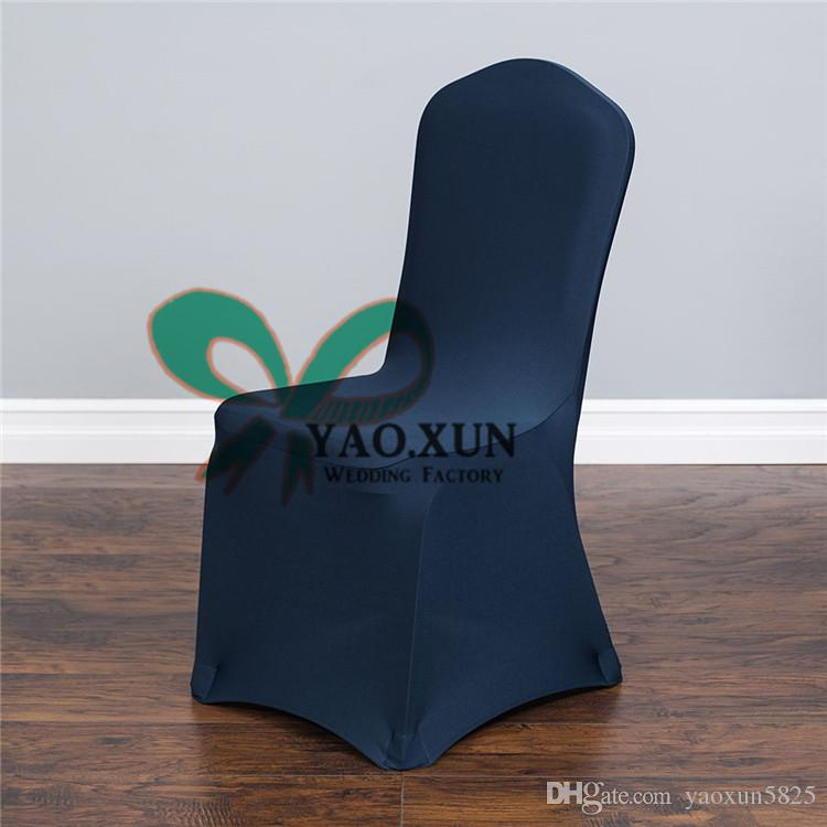 navy dining room chair covers lumbar support office cushion blue for wedding spandex cover lycra banquet factory price slipcovers seat from yaoxun5825