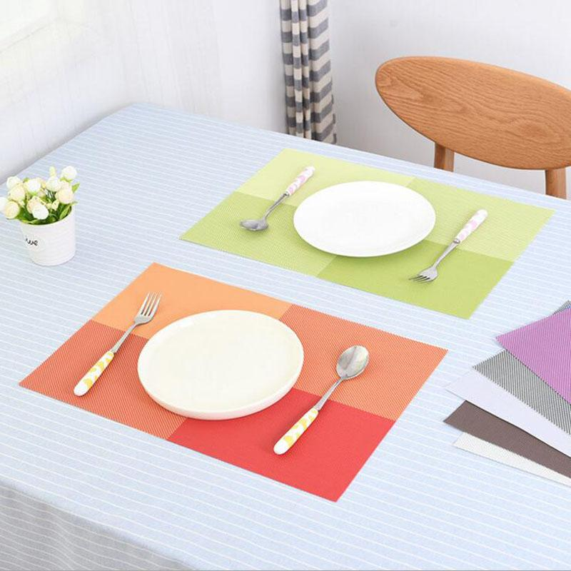 western kitchen table honey oak cabinets best pvc mat heat insulated tableware easy clean dinner bowl placemat pad 43 5 29 8cm under 2 72 dhgate com