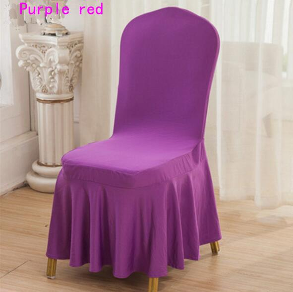 dining chair covers in store cowhide upholstered chairs lycra spandex cover skirt for wedding party banquet hotel decoration dhl