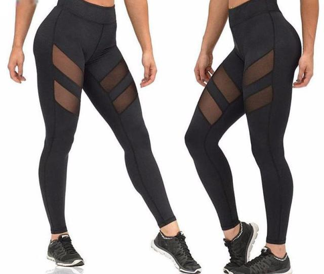 New Design Tight Gym Sportwear Nice Leggings High Elastic Sports Yoga Pants Fitness Running Long Trousers Yoga Pants Women Women Gym Pants Sports Pants